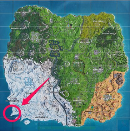 Fortnite | Battle Royale Complete Timed Trials In An X-4 Stormwing Plane (Week 9) Southeast of Lonely Lodge