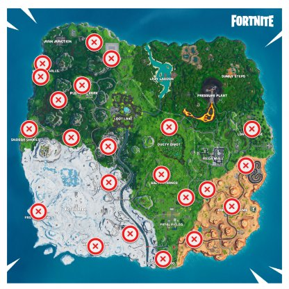 Vending Machine Map Locations