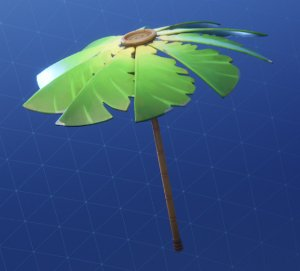 Fortnite Umbrella PALM LEAF