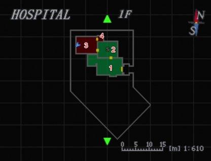 Hospital 1F Map