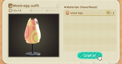 Bunny Day Clothes List