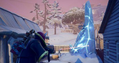 Destroy an Ice Shard - Ice Storm Challenge