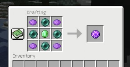 Requires a crafting table