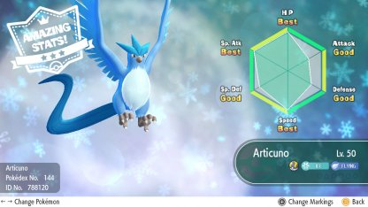 Restart To Get Legendary Pokemon With High IV