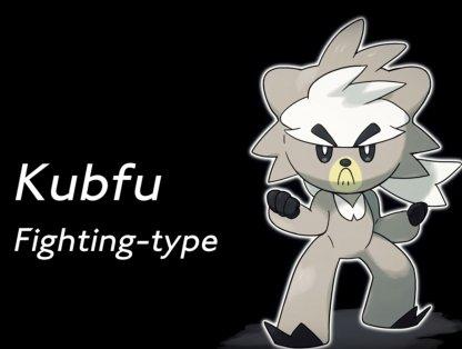 New Legendary Pokemon - Kubfu