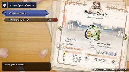 Challenge Quest 01 (Arena)