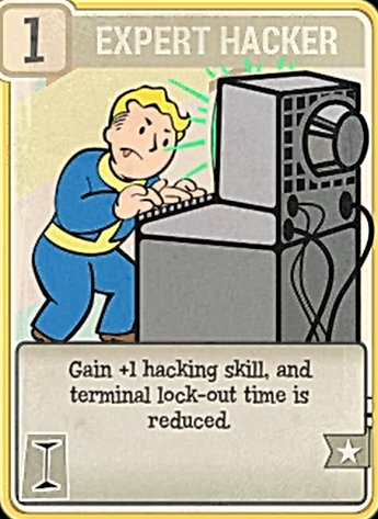Fallout 76 Perk Card Intelligence Expert Hacker