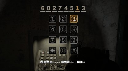 F8 Park Bunker Door Access Code