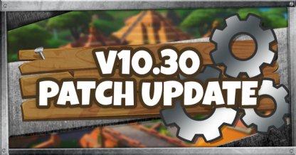 v10.30 Patch Update