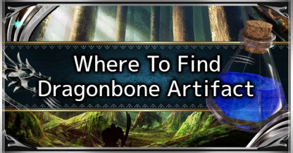 Dragonbone Artifacts
