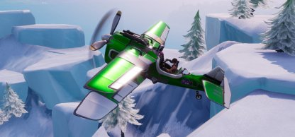 Fortnite Battle Royale Challenges Season 7 Week 7 Destroy a Flying X-4 Stormwing
