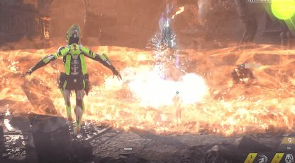 Time Your Jumps to the Fire Ring Attack
