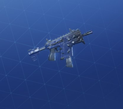 CURSED Wrap - Submachine Gun