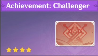 Complete To Get Achievement: Challenger Namecard