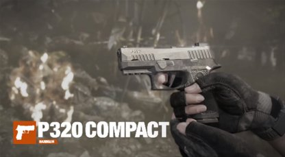 Wield the P320 XCompact Sidearm