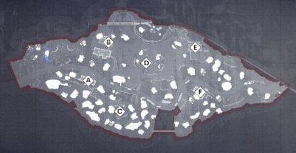 Crossroads Map Layout