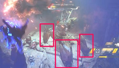 Anthem Take Out Armored Legs To Reveal Weak Spots