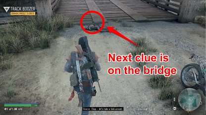 Clue Is On The Bridge