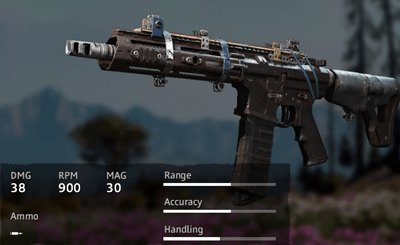 Far Cry New Dawn Rusty AR-C