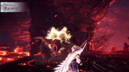 MHW Iceborne October 10th Update Rajang Volcanic Region