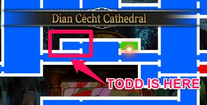 Todd is In Dian Cecht Cathedral