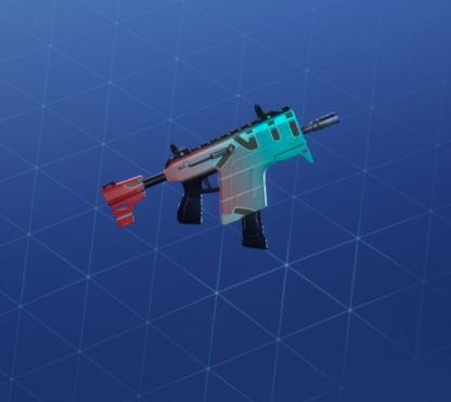 TOO TILTED Wrap - Submachine Gun