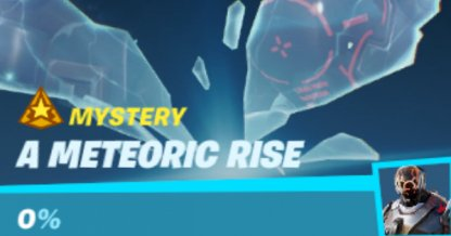 A Meteoric Rise Mission