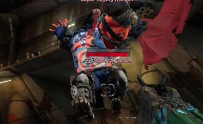 Super Raging Warden