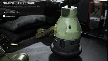 Snapshot Grenade Tactical Equipment