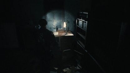 Resident Evil 2 Demo 3F Spade Key Location