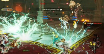 Same Moveset As Lynel, But With Added Lightning