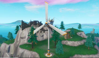 Visit Wind Turbines (Week 4) - Locations