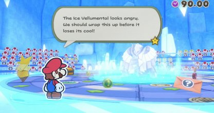 Defeat The Ice Vellumental Before It Unleashes Attack