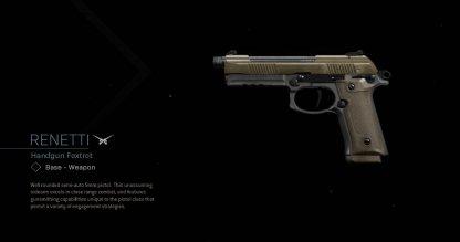 Renetti Handgun Image