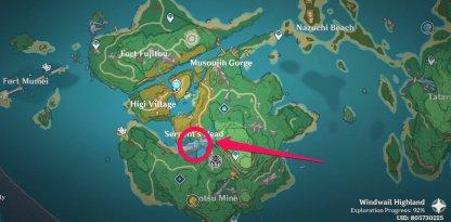 Kid Kujirai - Serpent's Head Map