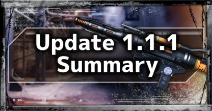 Update 1.1.1 Patch Notes Summary