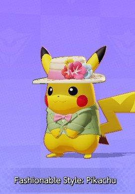 Fashionable Style Pikachu
