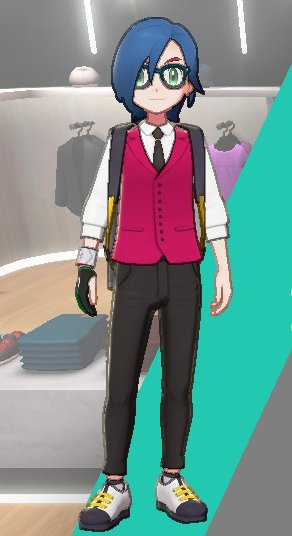 Vest And Tie Ensemble (Pink)