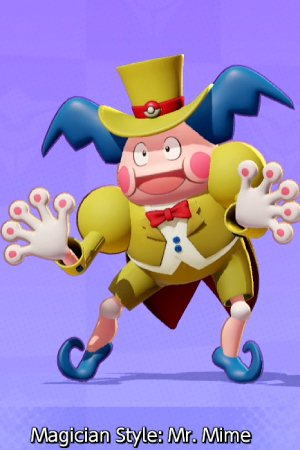 Magician Style Mr. Mime