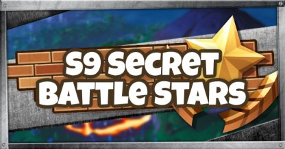 Season 9 Secret Battle Star & Fortbyte Locations Guide