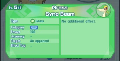 Snivy Sync Move