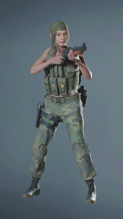 Clair - Military Shotgun Front