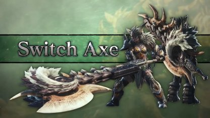 Switch Axe Iceborne Weapon Changes