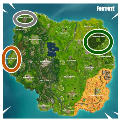 Fortnite Gathering Building Materials