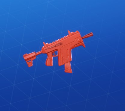 RED TOY Wrap - Submachine Gun