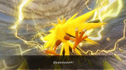 Dungeon Houses Thunder Pokemon Zapdos