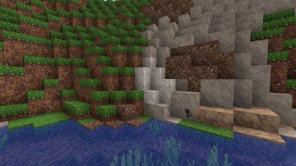 adds depth and brightens blocks