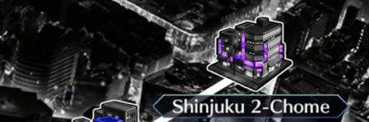 Shinjuku 2-Chome map