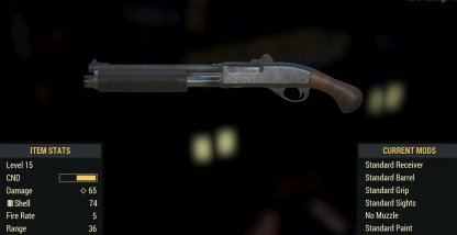 Short Pump Action Shotgun Image