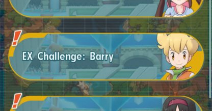 EX Barry Challenge
